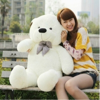 "42"" Giant teddy white"
