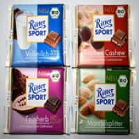 RitterSport Chocolates - 4 Nos