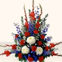 Funeral_Flower Basket